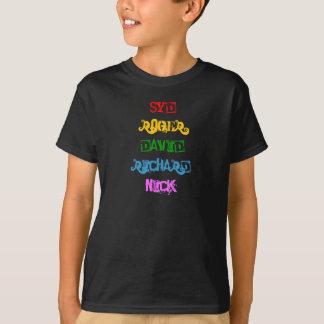 Psychedelic Progressive Rock Legends Names T-Shirt