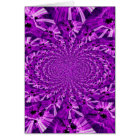 Psychedelic Purple Card