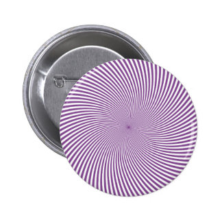 Psychedelic Purple Swirl Button