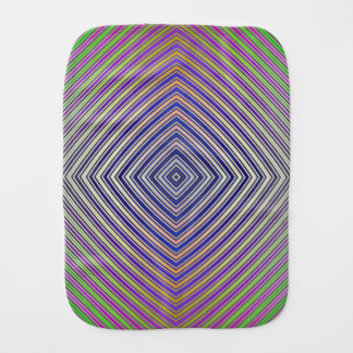 Psychedelic Pyramid Burp Cloth