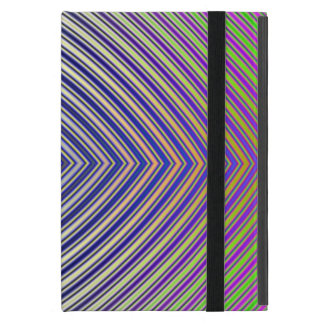 Psychedelic Pyramid Plan Cover For iPad Mini