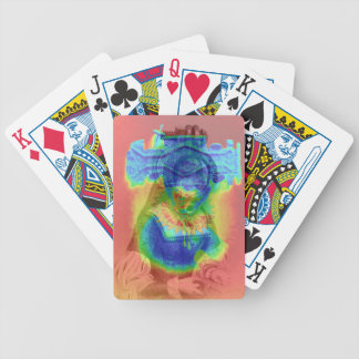 Psychedelic Queen Bicycle Playing Cards