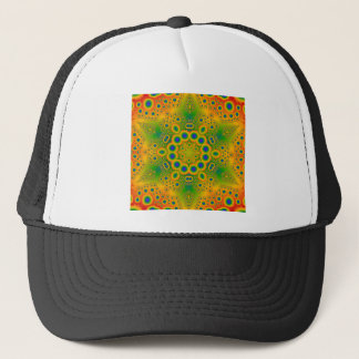 Psychedelic Radial Pattern: Trucker Hat