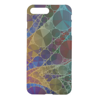 Psychedelic Rainbow Bling Abstract iPhone 7 Plus Case