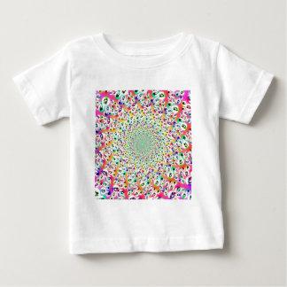 Psychedelic Rainbow Eyes Mandala Babys Baby T-Shirt