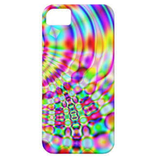 Psychedelic Rainbow Hippy Sunrise Barely There iPhone 5 Case