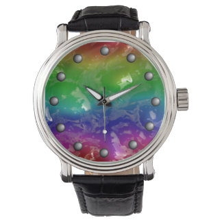 Psychedelic Rainbow Jellied Ooze Watch
