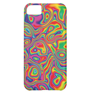 Psychedelic Rainbow Oil Pattern iPhone 5C Case