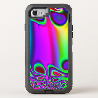 Psychedelic Rainbow OtterBox Defender iPhone 8/7 Case