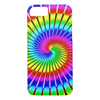 Psychedelic Rainbow Spiral Staircase iPhone 7 Case
