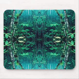 Psychedelic Rainforest Mouse Mat