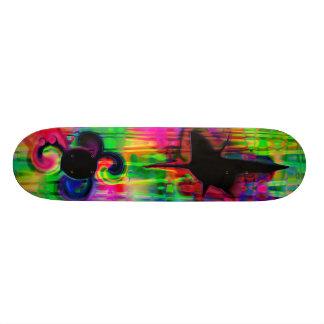 Psychedelic Ride Skate Board