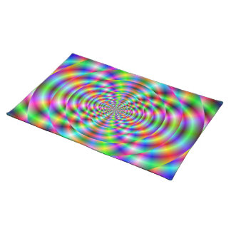 Psychedelic Rings American MoJo Placemats