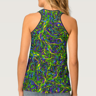 Psychedelic Roots Women's Tank Top