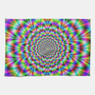 Psychedelic Rosette Kitchen Towels