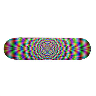 Psychedelic Rosette Skateboard