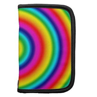 Psychedelic Round Rainbow Pattern Organizer
