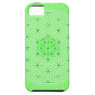 Psychedelic Sacred Geometry Heart Chakra Design iPhone 5 Case