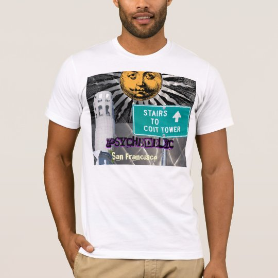 Psychedelic San Francisco, California shirt