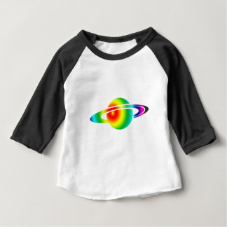 Psychedelic Saturn Baby T-Shirt