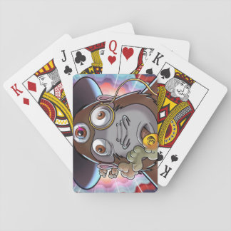 Psychedelic Schmeckle Playing Cards