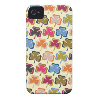 Psychedelic Shamrock iPhone 4s Case