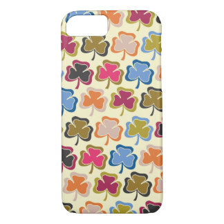 Psychedelic Shamrock iPhone 7 case