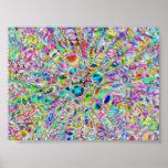 Psychedelic Shells Print