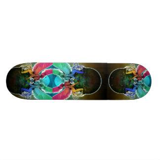 Psychedelic Siren Skate Board Decks