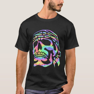Psychedelic skull Psycho Skull T-Shirt