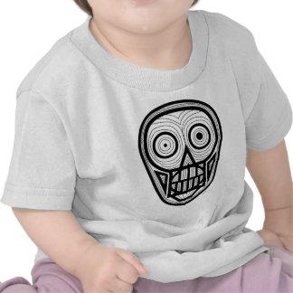 Psychedelic Skull Tee Shirts