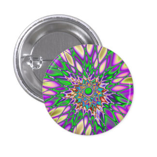 Psychedelic Smash Button