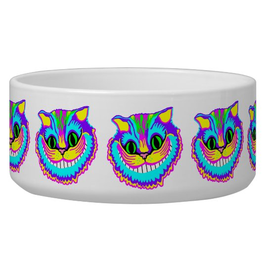 Psychedelic Smiling Crazy Cat