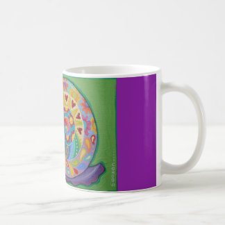 Psychedelic Snail Mug by Soozie Wray