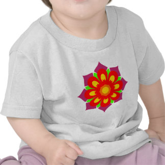 Psychedelic Snowflake T Shirts