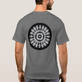 Psychedelic Spheres Dartboard T-Shirt