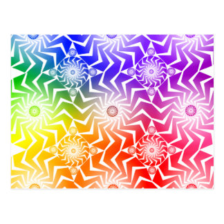 Psychedelic Spheres Pattern: Postcard
