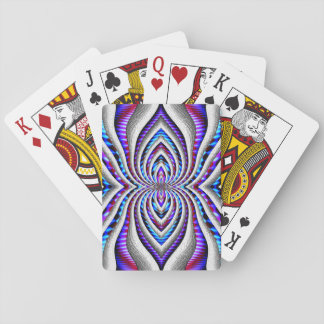 Psychedelic Spider... Playing Cards
