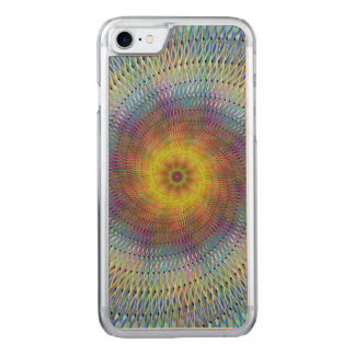 Psychedelic spiral carved iPhone 8/7 case