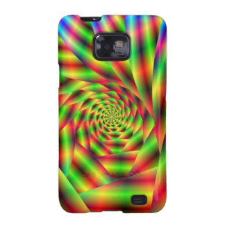 Psychedelic Spiral Galaxy S Samsung Galaxy SII Cases