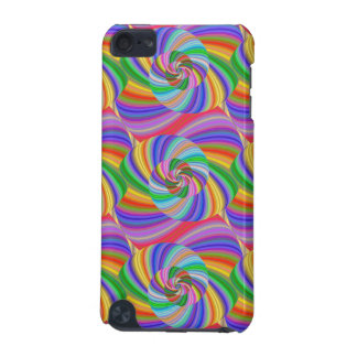 Psychedelic spiral iPod touch 5G case