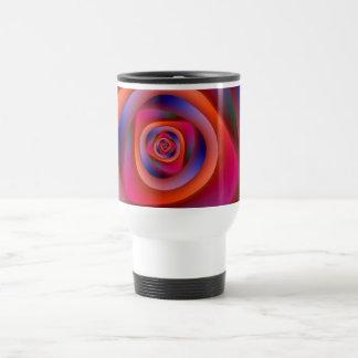 Psychedelic Spiral Labyrinth Mug