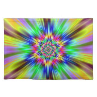 Psychedelic Star Placemat