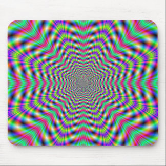 Psychedelic Stars in Stars  Mousepad