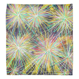 Psychedelic Stars Pattern Abstract Art Painting Bandanas