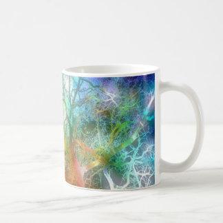 Psychedelic storm coffee mug