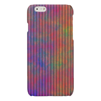 Psychedelic Stripes - Colorful Striped Abstract iPhone 6 Plus Case