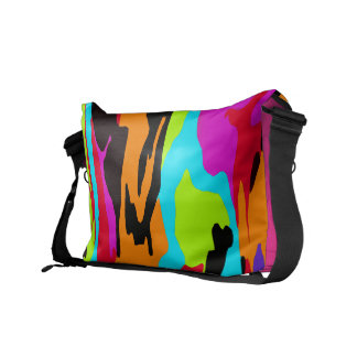 Psychedelic Suburban Camo Commuter Bags