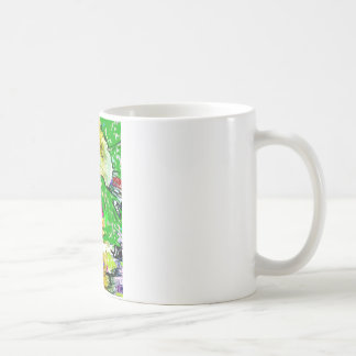 Psychedelic Sunflower Coffee Mug