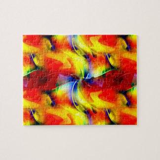 Psychedelic Sunrise Jigsaw Puzzle